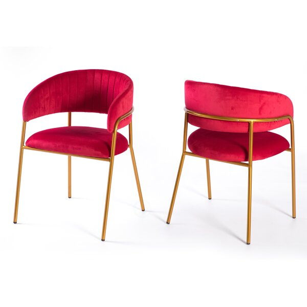Duron 21.25 Barrel Chair (Set Of 2) By Everly Quinn