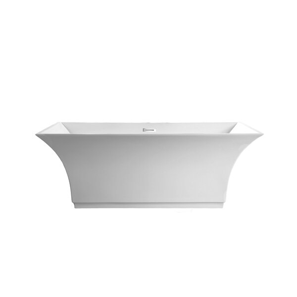 Abzu 69 x 32 Freestanding Soaking Bathtub by A&E Bath and Shower