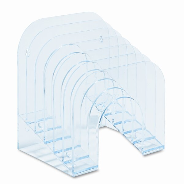6-Tier Jumbo Incline Sorter, Plastic by Rubbermaid