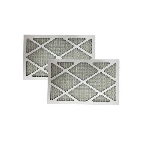 Allergen Furnace Air Filter (Set of 2) by Crucial