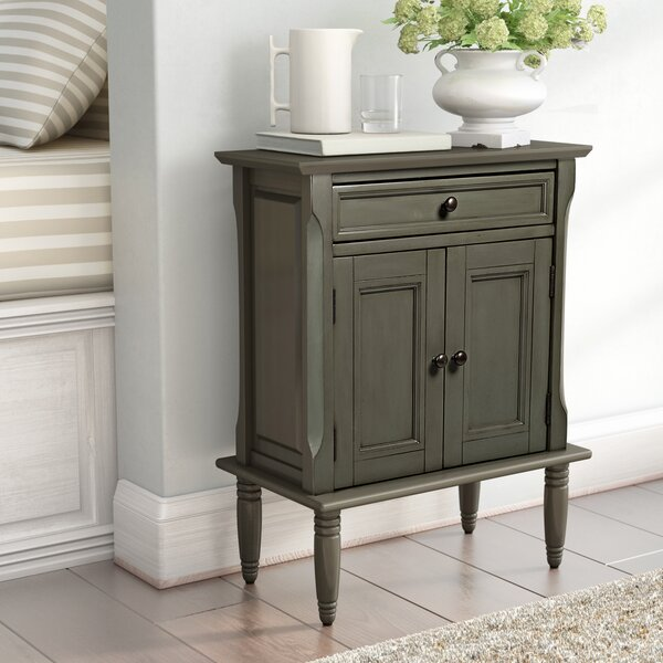 Glenburn 1 Drawer Nightstand by Three Posts