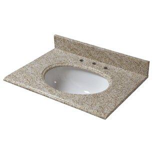Granite 25 Single Bathroom Vanity Top by Halstead International