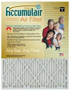 Merv 8 Custom Air Filter (Set of 4) by Accumulair