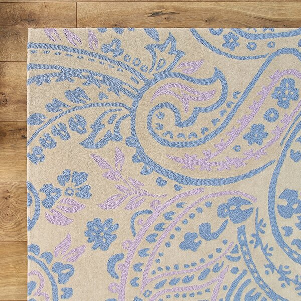 Paisley Purple Rug by Birch Lane Kids™