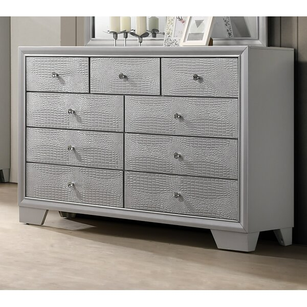 Bowdoin 9 Drawer Double Dresser by House of Hampton