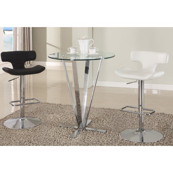 Cortland 2 Piece Pub Table Set by Chintaly Imports