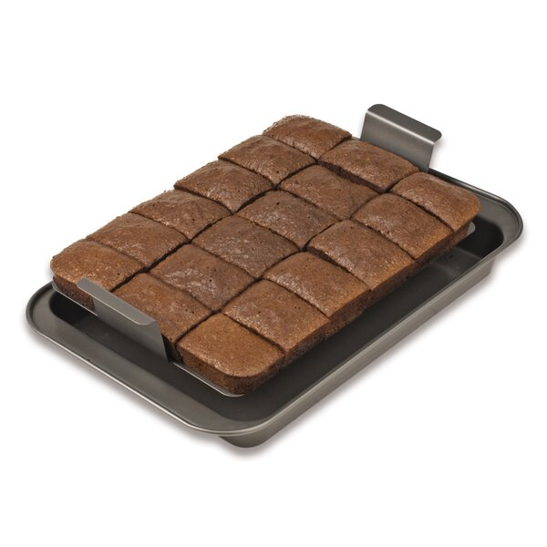 Non-Stick Slice Solutions Brownie Pie Pan by Chicago Metallic