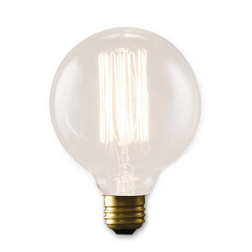 Nostalgic Edison 40W Incandescent Light Bulb (Set of 4) by Bulbrite Industries