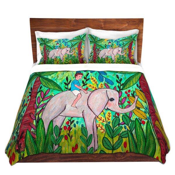 Elephant Boy Duvet Cover Set