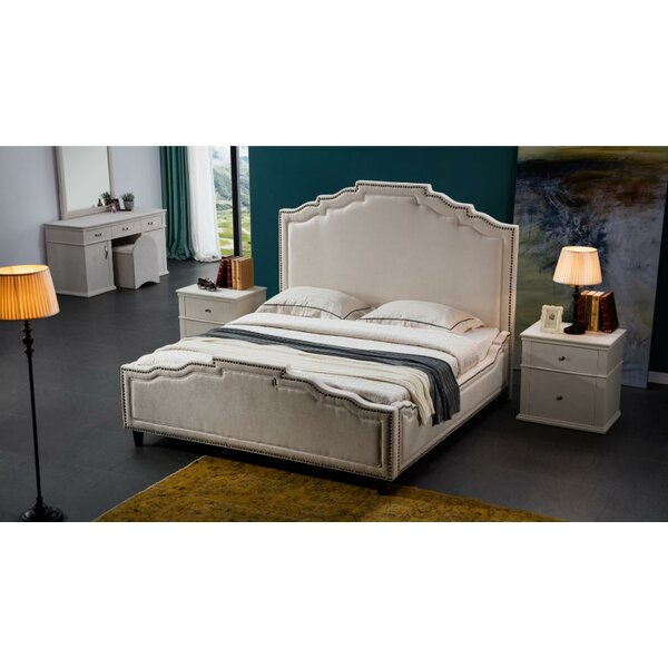 Ronny Upholstered Bed by Rosdorf Park