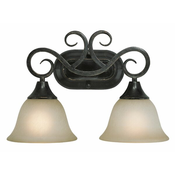 Wiliams 2-Light Vanity Light by Fleur De Lis Living