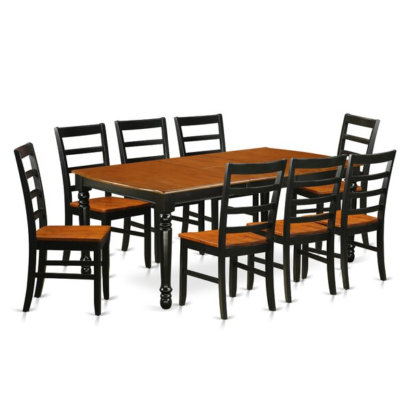 Best Choices Pimentel 9 Piece Solid Wood Dining Set By August Grove Discount