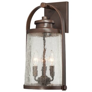 Online Reviews Travessa 3-Light Outdoor Wall Lantern By Great Outdoors by Minka