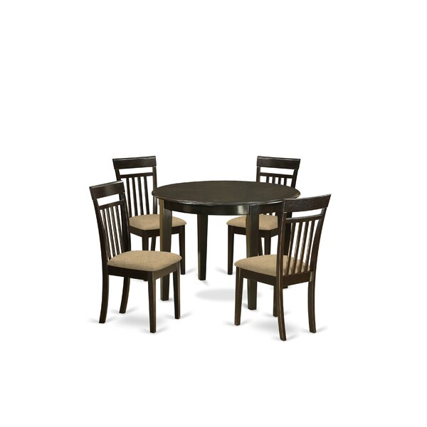 Hillhouse 5 Piece Dining Set by Red Barrel Studio Red Barrel Studio