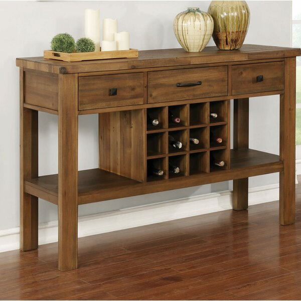 Nwabuzor 57-inch Wide 3 Drawer Buffet Table by Winston Porter Winston Porter