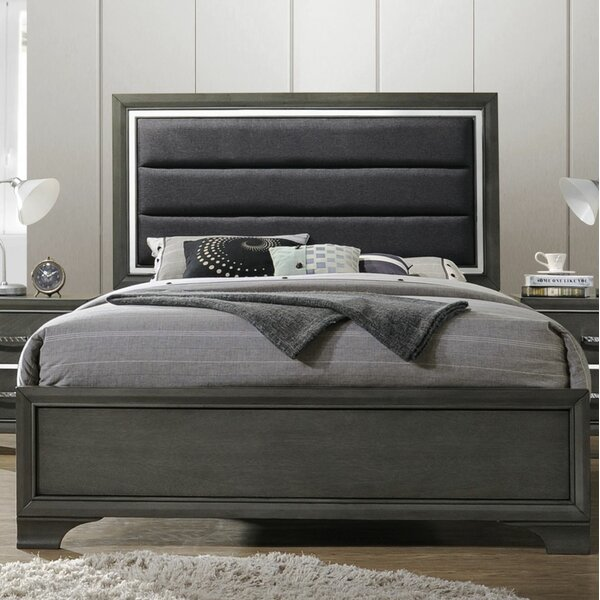 Plemmons Upholstered Standard Bed by House of Hampton