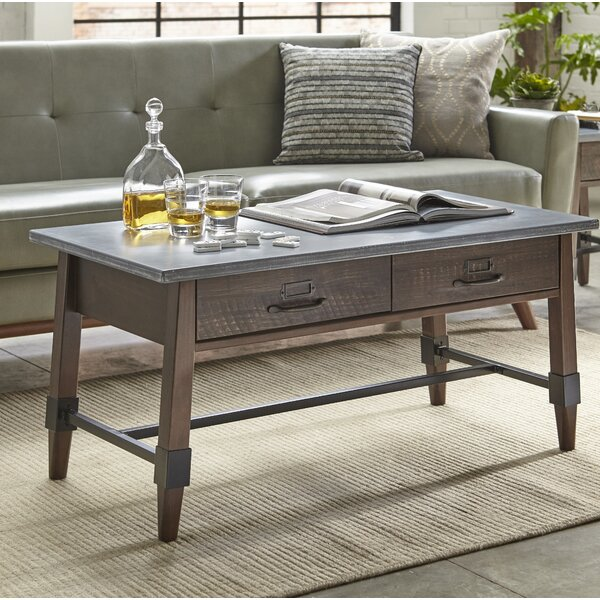 St Andrews Coffee Table with Storage by Millwood Pines