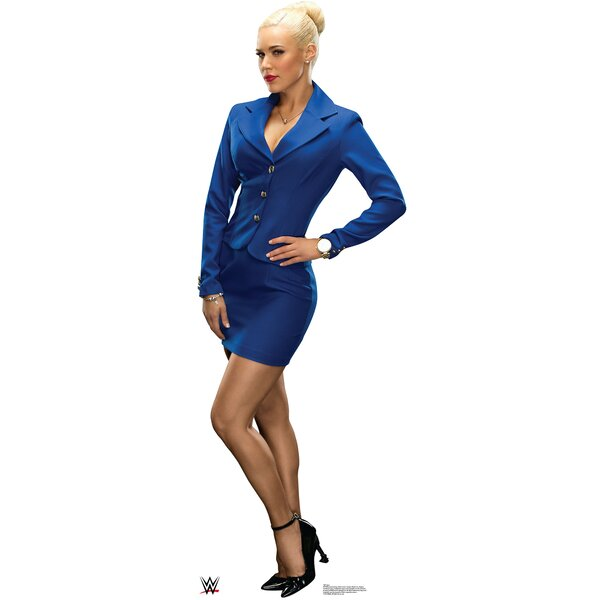 WWE Lana Cardboard Standup by Advanced Graphics