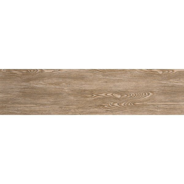 Alpine 6 x 36 Porcelain Wood-Look Plank Tile in Amaretto by Emser Tile