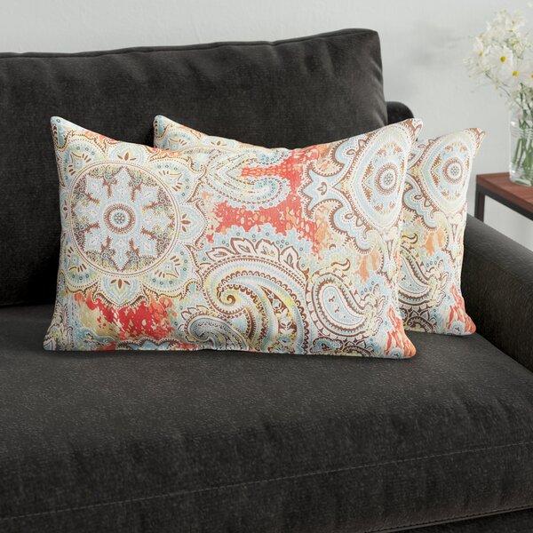 Lebaron Indoor/Outdoor Lumbar Pillow (Set of 2) by Three Posts