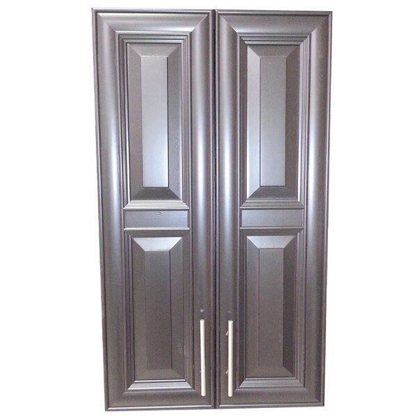 Overton 21 W x 49 H Recessed Cabinet by WG Wood Products