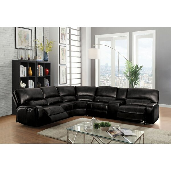 Kinsella Right Hand Facing Motion Reclining Sectional by Latitude Run