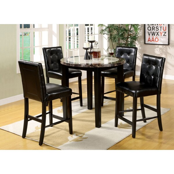 Toulouse 5 Piece Dining Set by Alcott Hill