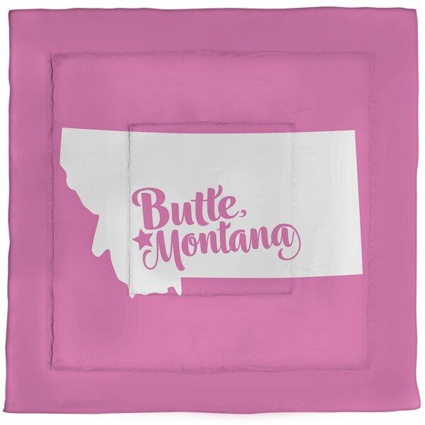 Butte Montana Single Reversible Comforter