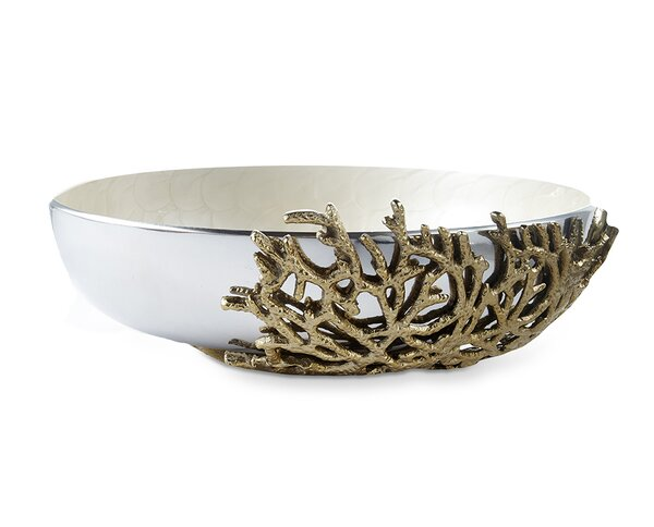 Coral 15 Decorative Bowl by Julia Knight Inc
