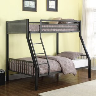 Affordable Price Wellfleet Contemporary Twin Over Full Bunk Configuration Bed with Ladder ByZoomie Kids