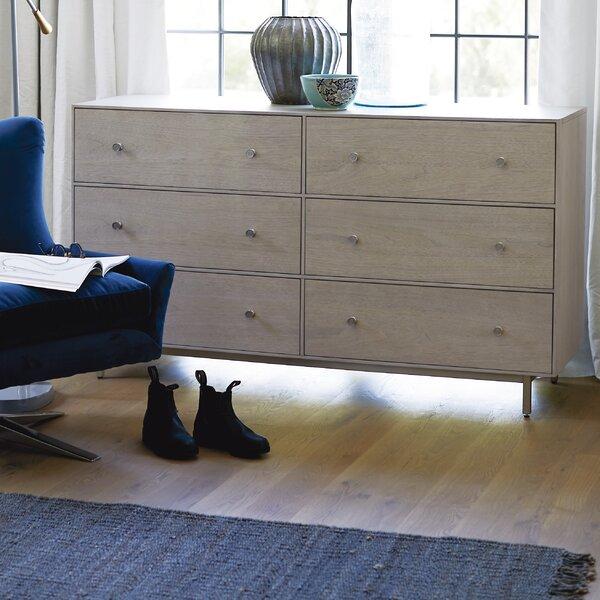 Beahm 6 Drawer Double Dresser by Orren Ellis