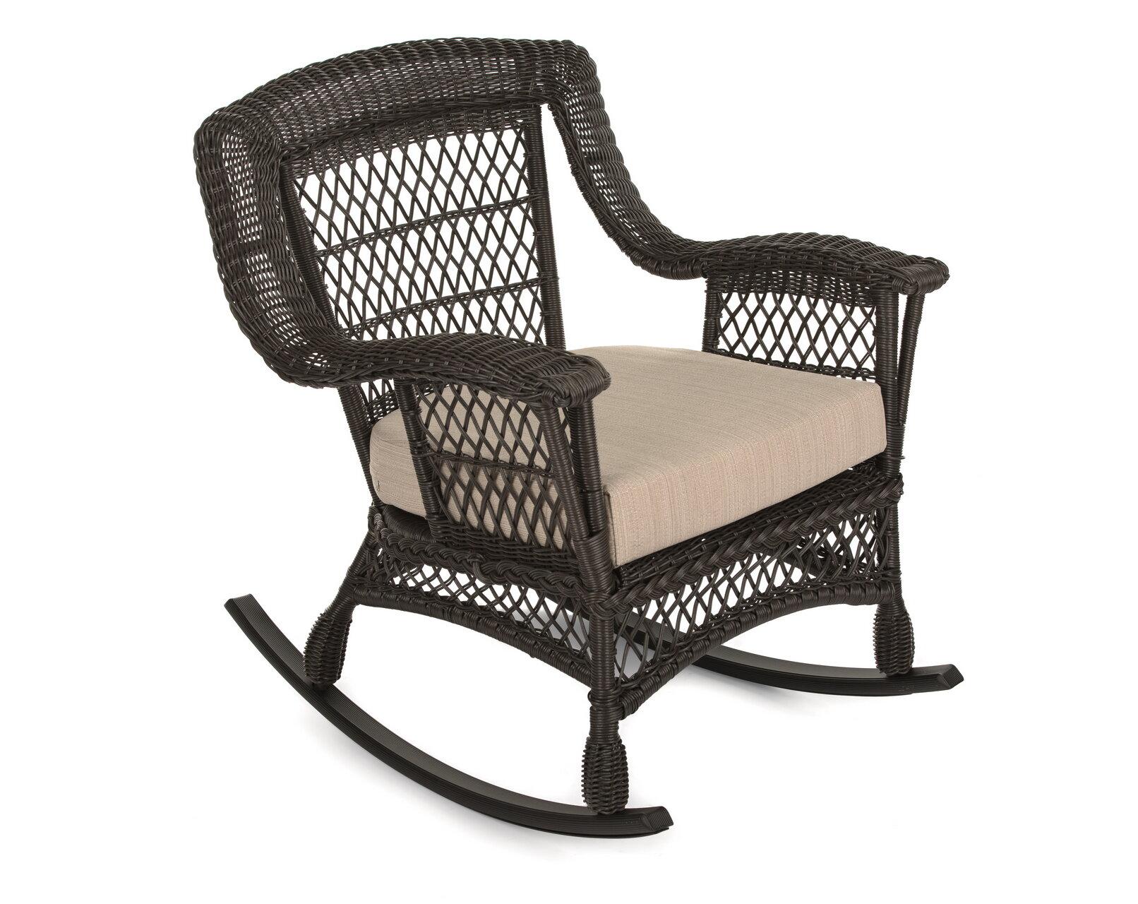 Wood Rocking Chair Porch Rocker Patio Deck Garden Backyard Furniture Walnut New