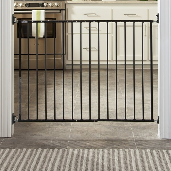 Easy Walk Thru Metal Safety Gate By Storkcraft.