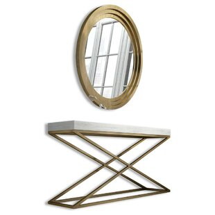 Saybrook Console Table and Mirror Set