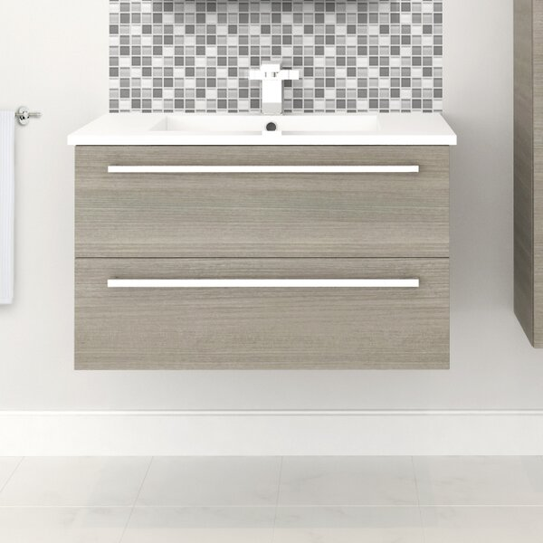 Silhouette 30  Single Bathroom Vanity Set by Cutler Kitchen & Bath