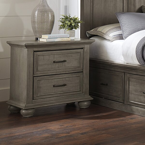 Lemaire Park 2 Drawer Nightstand by Canora Grey