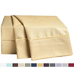 Top Reviews Embossed Checkerboard Design Sheet Set By Clara Clark