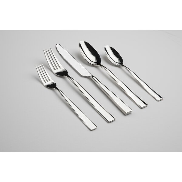 Resto 60 Piece Flatware Set by Gourmet Settings
