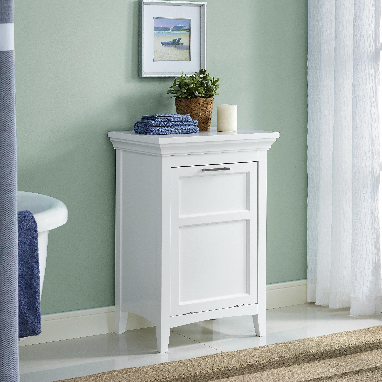 Simpli Home Avington Freestanding Laundry Hamper & Reviews | Wayfair
