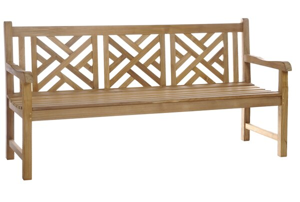 Amdt Teak Garden Bench by Red Barrel Studio