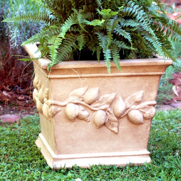 Resin Pot Planter by Ladybug Garden Decor