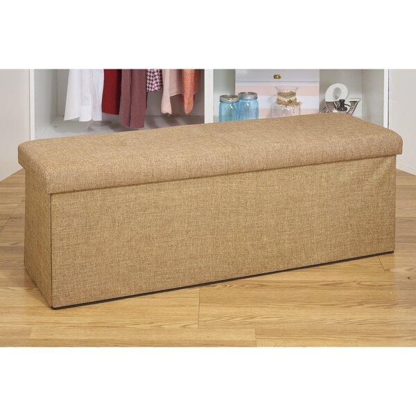 Tjure Storage Upholstered Ottoman By Winston Porter