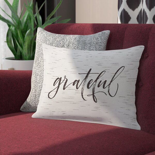 Digit Grateful Birch Lumbar Pillow by Ivy Bronx