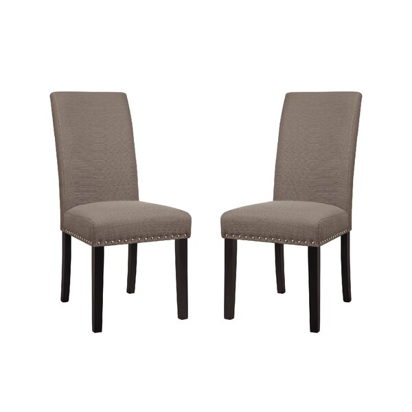 Review Towry Upholstered Dining Chair (Set Of 2)