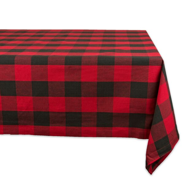 Honor Buffalo Check Tablecloth by Gracie Oaks
