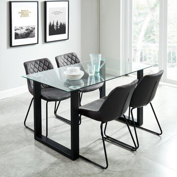 Lorri Contemporary 5 Piece Dining Set by Wrought Studio