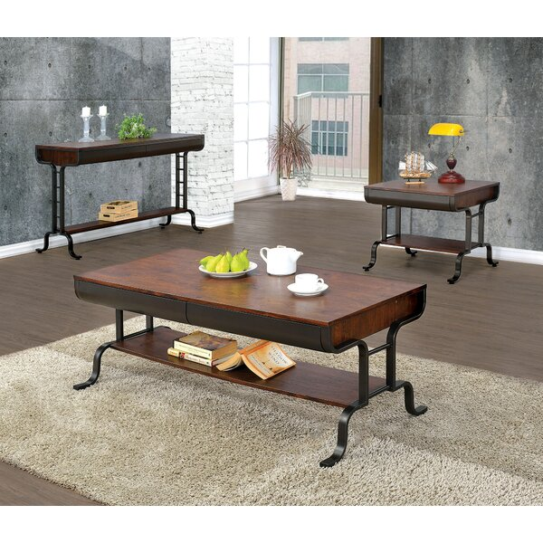 Rochelle 3 Piece Coffee Table Set by 17 Stories