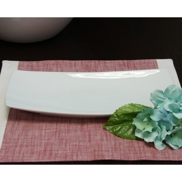 Daughtery Dining Ceramic Sushi Platter by Orren Ellis