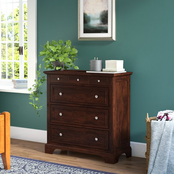 Borden 4 Drawer Chest by Three Posts