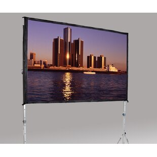 Fast Fold Deluxe 126 H x 168 W Portable Projection Screen